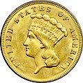1874 Three-dollar piece obverse.jpg
