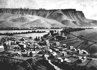 John Day, Oregon - John Day circa 1885