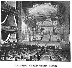 Grand Opera House (Boston) - Image: 1896 Grand Opera House Bostonian v 2 no 6