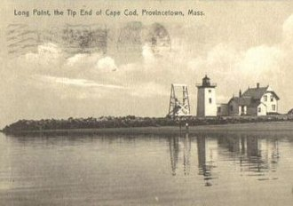 Provincetown Harbor - Long Point Light at the tip of Cape Cod