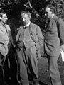 1914 Oliver Strachey, George Edward Moore, John Maynard Keynes mw17626.jpg