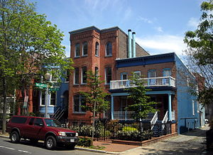 Richard P. Bland - Former Washington, D.C. residence (center) of Richard P. Bland