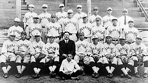 J. Rex Farrior - A picture of the 1924 baseball team.