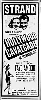 <i>Hollywood Cavalcade</i> 1939 American film