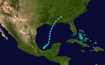 1939 Atlantic tropical storm 4 track.png
