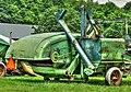 1940's John Deere Combine (27410117164).jpg