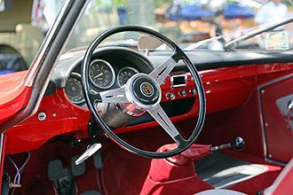 Alfa Romeo Giulietta Sprint Speciale - Dashboard of a 1961 Giulietta Sprint Speciale.