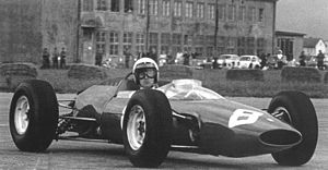 1964 Austrian Grand Prix - Lorenzo Bandini won the race driving a Ferrari 156 F1