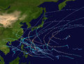 1969 Pacific typhoon season summary map.png