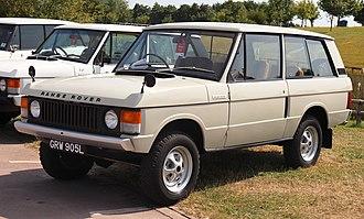 Range Rover Classic - 1973 Range Rover