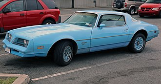 GM F platform - Image: 1977 Pontiac Firebird Esprit, front left