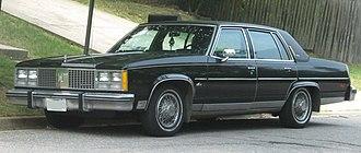 Oldsmobile 98 - 1978 Oldsmobile 98 Regency