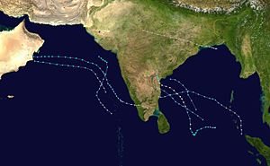 1979 North Indian Ocean cyclone season - Image: 1979 North Indian Ocean cyclone season summary