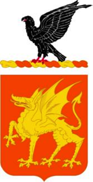 1st Cavalry Regiment (United States) - Coat of arms