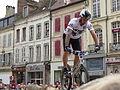 2ème Trial Sports Challenge Entreprises de Sens - 30 - Vincent Hermance dans la quatrième zone.JPG