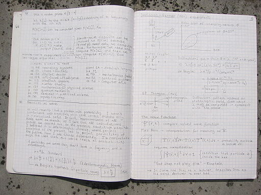 2000 Notebook, Pages 4-5