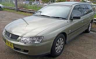 Holden Commodore (VY) - Holden Commodore (VY) Executive station wagon