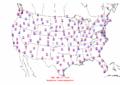 2003-05-20 Max-min Temperature Map NOAA.png