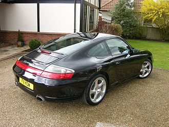 Porsche 996 - Porsche 911 Carrera 4S (UK)