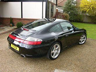 Porsche 996 - Porsche 911 Carrera 4S (UK)