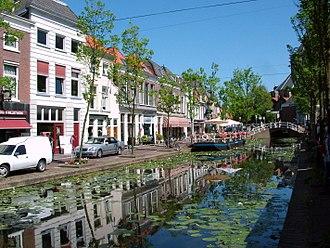 Gracht - A gracht in Delft, South Holland