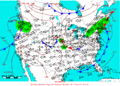 2006-06-04 Surface Weather Map NOAA.png