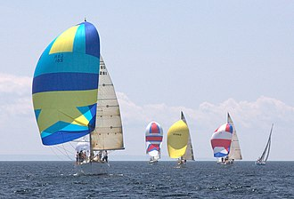 Bras d'Or Lake - The East Bay Regatta, held the last weekend in July since 1984, features races and other social events. In some years as many as 40 boats participate.