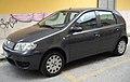 2009 Fiat Punto Classic 188 front.JPG