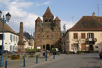 Marmoutier - Former abbey church of Marmoutier Abbey
