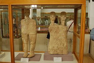 'Ain Ghazal Statues - Image: 20100923 amman 41