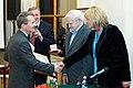 2010 Likhachev Foundation Prize ceremony - Alexander Melnik, Alexander Kobak, Daniil Granin and Alla Manilova.jpg