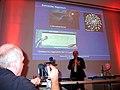 2012-11-13, j, KinderUniHannover Audimax Leibniz Universität, Dr.-Ing. Foto und Kamera-Mitschnitt und Übertragung des Vortrages von Dr.-Ing. Mirko Schaper.jpg
