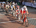 2012 Global Relay Gastown Grand Prix - Womens Race - Starting Line.jpg
