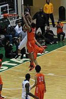 20130126 White-Okafor doubleteam leads to Okafor block of Parker at Simeon-Whitney Young game (3).JPG