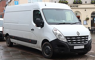 Renault Master Series of vans