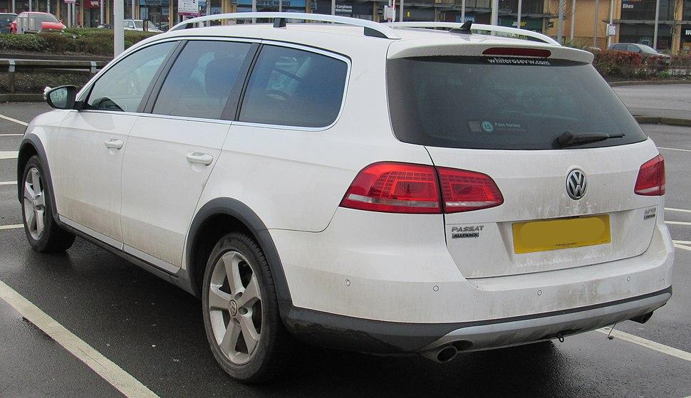 2013 Volkswagen Passat Alltrack TDi BMT 4MOTION 2.0 Rear