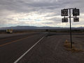 2014-07-17 16 18 28 View south along U.S. Route 93 at the junction with Nevada State Route 318 in Crystal Springs, Nevada.JPG