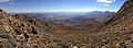 2014-10-09 13 02 22 Panorama southeast from about 9600 feet on the eastern slopes of Granite Peak in Humboldt County, Nevada.JPG