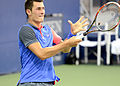 2014 US Open (Tennis) - Tournament - Bernard Tomic (15138895642).jpg
