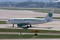 HB-JOG - A319 - Germania Flug