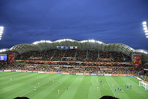 2015 AFC Asian Cup Final - Australia's opening match against Kuwait at the Melbourne Rectangular Stadium