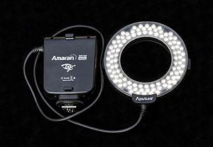 Ring flash - An LED-based ring flash