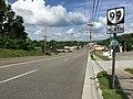 2017-06-13 10 11 06 View north along Virginia State Route 99 (Main Street) at Newbern Road in Pulaski, Pulaski County, Virginia.jpg