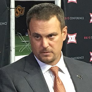 Tom Herman (American football) - Herman at 2017 Big 12 Media Days