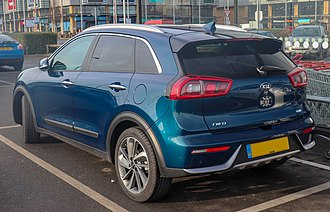 Kia Niro - Image: 2017 Kia Niro First Edition S A 1.6 Rear