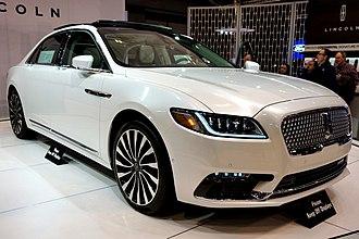Lincoln Continental - 2017 Lincoln Continental