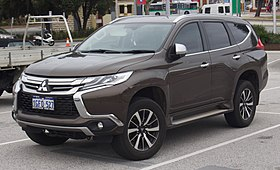 Mitsubishi Montero 2015 >> Mitsubishi Pajero Sport Wikipedia
