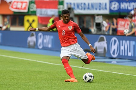 20180610 FIFA Friendly Match Austria vs. Brazil David Alaba 850 0050.jpg