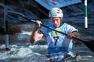 Boris Neveu French slalom canoeist