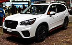 2019 Subaru Forester Sport AWD front NYIAS 2019.jpg